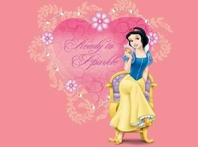 漫画欧式粉色公主图片