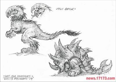 《魔兽世界:大灾难》精美原画设定(多图)