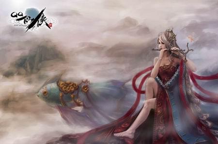 qq仙侠红名_QQ仙侠传玩家插画__17173新网游频道_17173.com中国游戏第一门户站