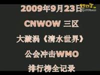 清水世界首次冲击WMO国服排行榜全记录_17