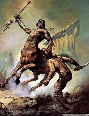 半人马族也是古希腊人膜拜的对象