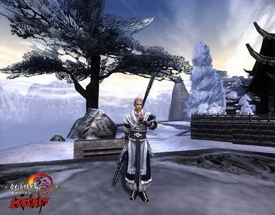 游戏云天风景图片