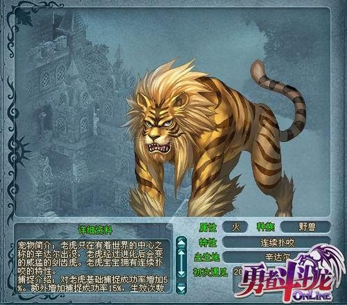 老虎—辛达尔的王者
