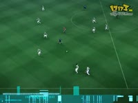PES2010 实况足球 巴萨门将平托接球失手夸雷