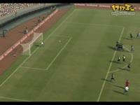 实况足球2011任意球人墙BUG_17173游戏视频