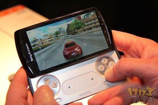 索尼ps智能手机xperia play震撼登场 高清图片