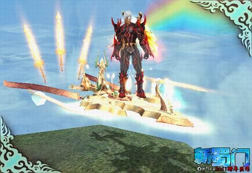 """被人称之为""""御剑飞行""""的天雷剑,帅气的金属色绝对的吸引眼球,让其主人"""