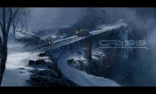 《孤岛危机》游戏原画设定图欣赏