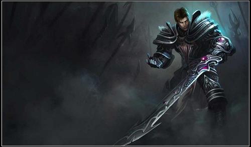 德玛_代表德玛西亚正义的圣剑 lol威猛勇士盖伦