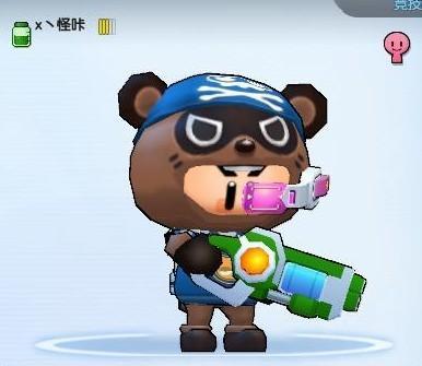 《泡泡战士》角色手绘图
