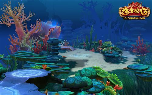 壁纸 海底 海底世界 海洋馆 水族馆 500_312