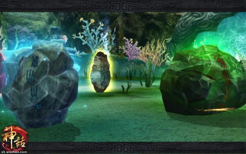 梦幻海底世界的奇异石怪
