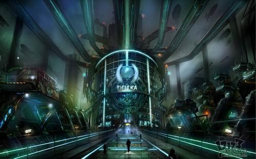 韩国科幻战争新游《劫后余生》原画欣赏