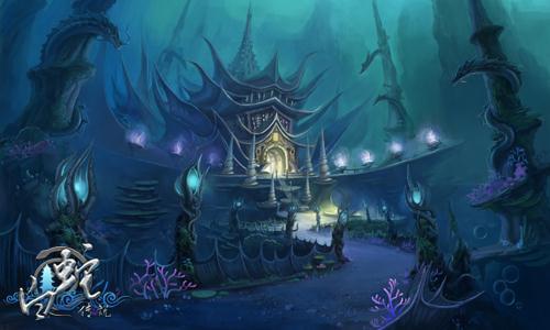 神秘海底龙宫,上天入地不再是奢望