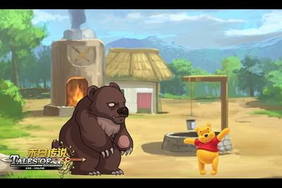 又高又大的成年熊看起来很可怕,不过一只幼熊就不一样了,看它肥嘟嘟