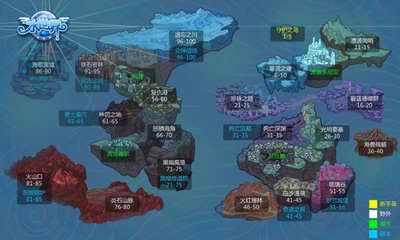 [水世界]地图详解