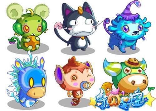 《乐贝星空》游戏当中,有着许许多多可爱动人,并且善于战斗的宠物在等