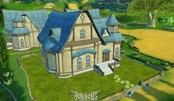 韩服永恒之塔3.0版 各种住宅外观展示