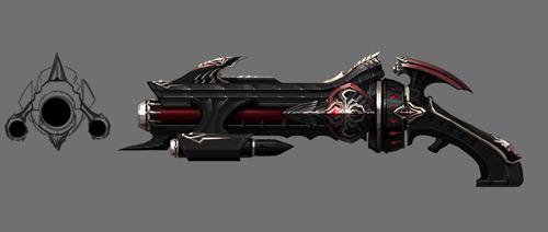 枪星武器概念图曝光--永恒之塔-aion--17173