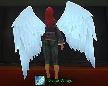 美服翅膀道具展示,我们先睹为快!