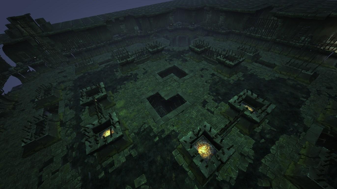 暗黑破坏神3竞技场地图模型_暗