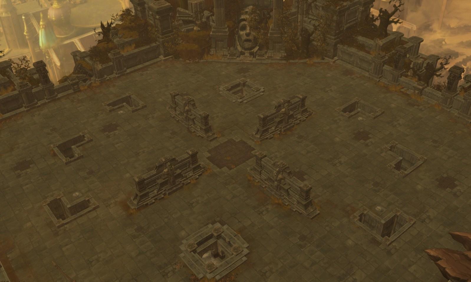 暗黑破坏神3竞技场地图模型