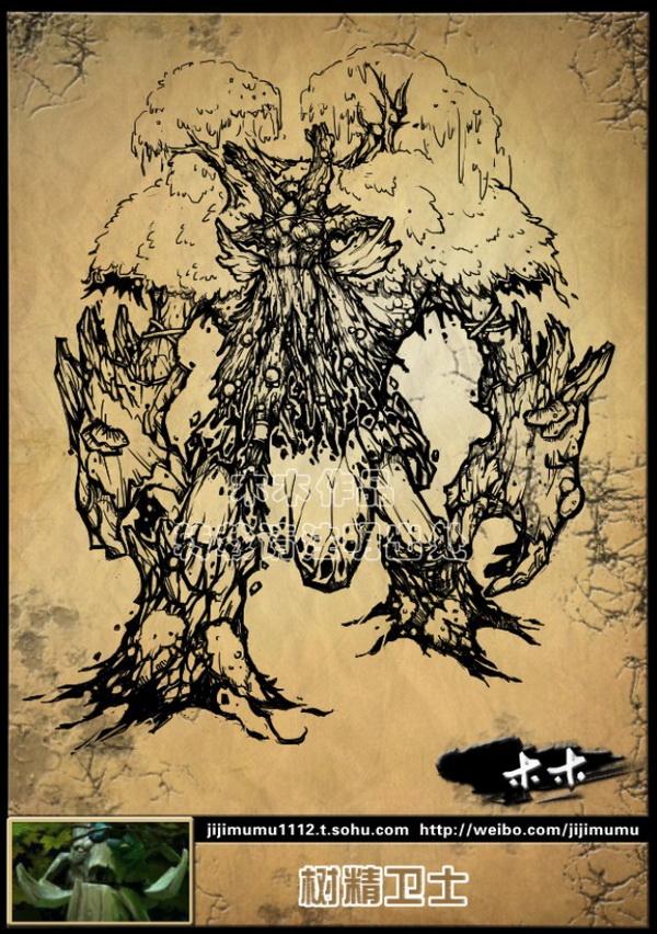 木木手绘dota2英雄图赏更新