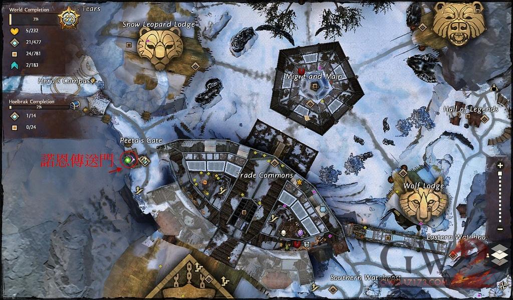 《激战2》世界战场WvW资料说明及新手教学