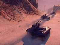 行星边际2官方高清截图奔赴战场的坦克