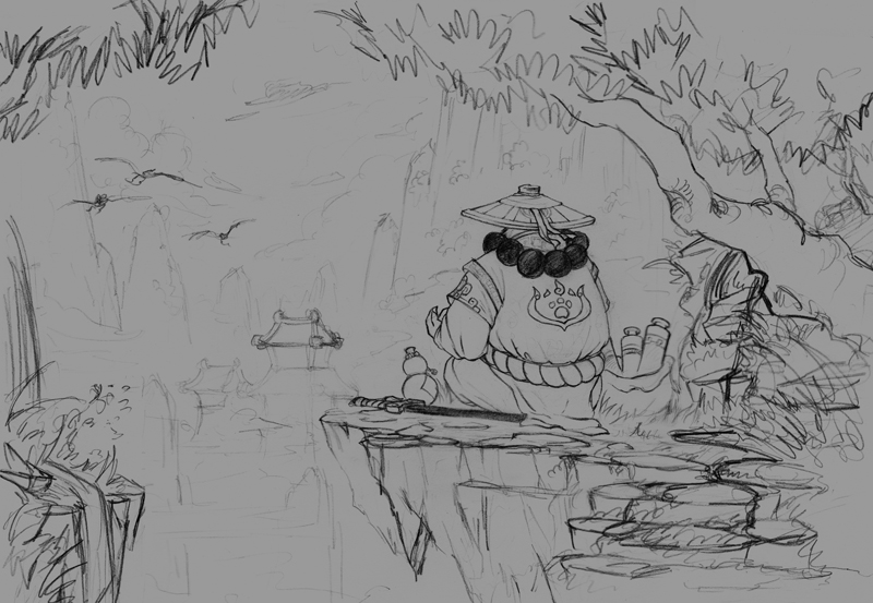 魔兽世界插画个人作品:静