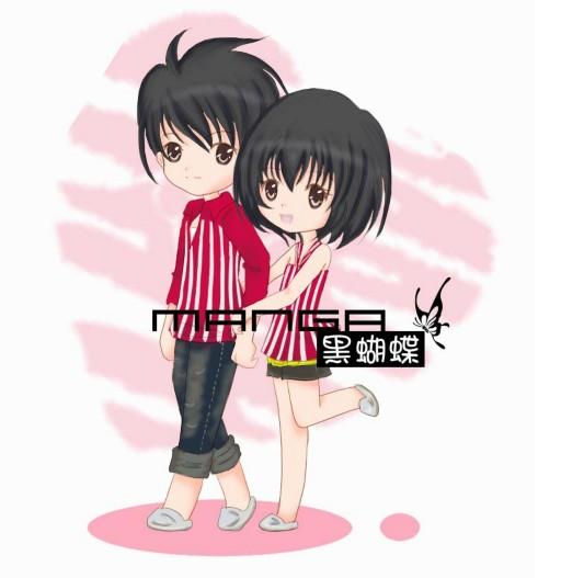 黑蝴蝶q版漫画第3期,萝莉软妹任你抱_qq炫舞_qq炫舞_.