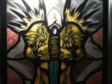 玩家自制暗黑3大天使染色玻璃