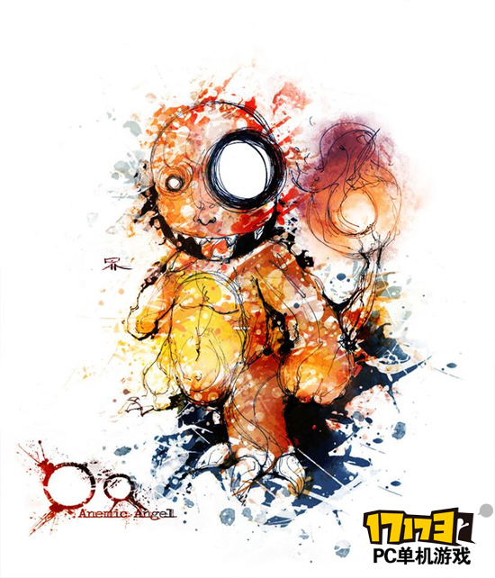 进击的小火龙-惨烈版 口袋妖怪 画作 画师像是吃了迷魂散