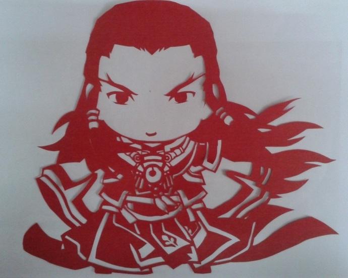 古剑奇谭2主角剪纸