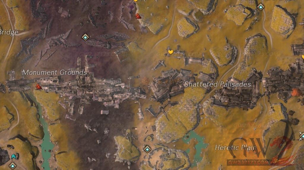 激战2钢铁平原地图