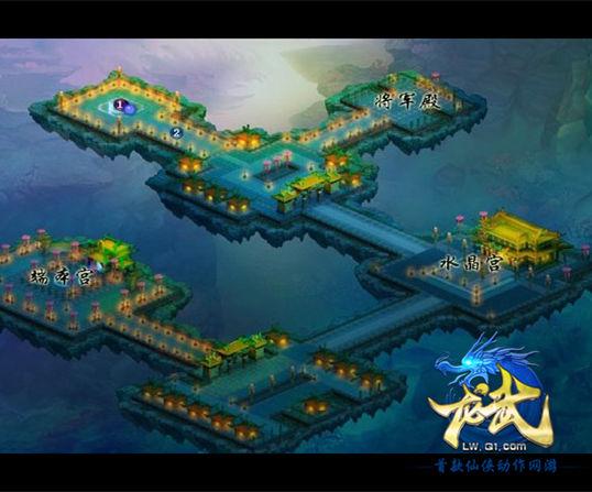 猴王谷景区地图