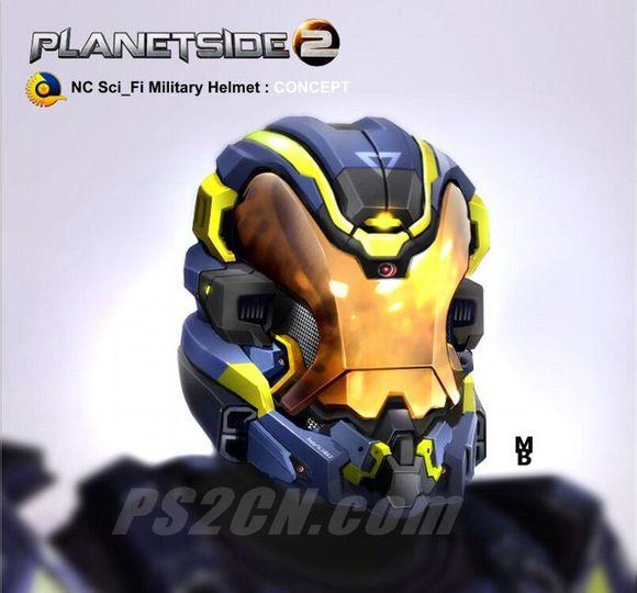 行星边际2美服宣传视频 科幻风nc头盔出炉