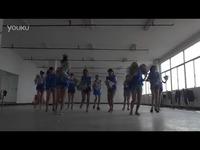 林科大涉外大学生艺术团篮球赛啦啦操舞蹈室版