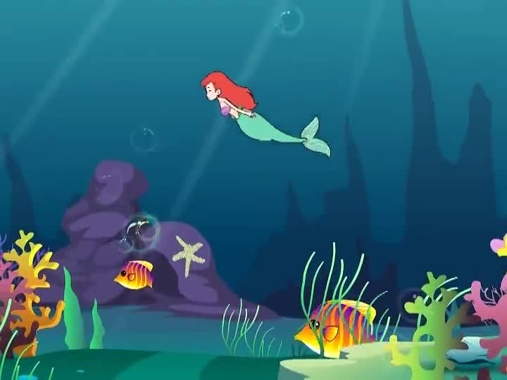 经典童话故事动画片 海的女儿