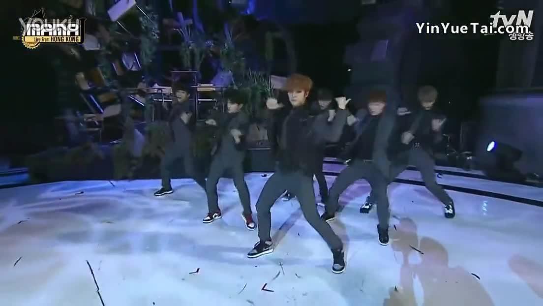 【exo】鹿晗dance cut - 2013mama颁奖典礼 现场版 13