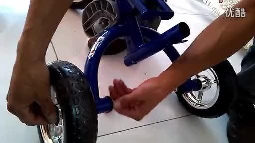 小迪克儿童三轮车安装视频