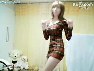 精华视频 韩国美女热舞自拍bj主持李由美连体紧身裙