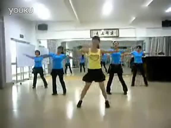 健身舞 做我的女朋友 游戏视频