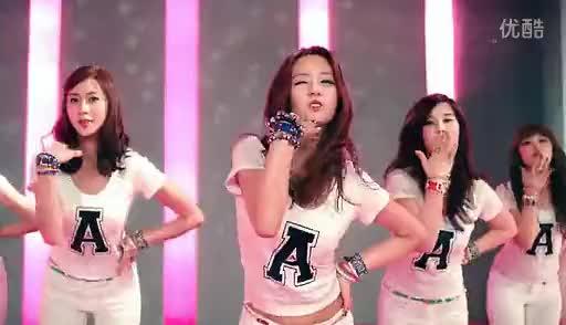 高清片段 韩国女子组合apink《hush》mv完整版-经典歌曲