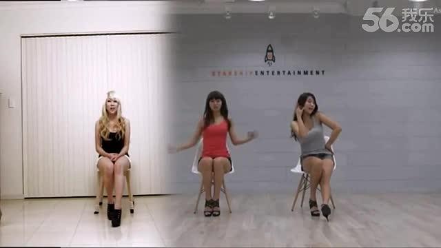 波涛胸涌热舞狂飙 热辣美女诱惑椅子舞 游戏视频