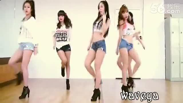 最新简单好学舞蹈教学视频【dance】韩国美女waveya