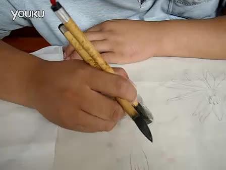 吴玉阳工笔画技法步骤:分染(鱼的画法)
