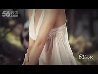 美女性感婚纱内衣豪放拍摄 性感