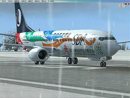 飞机起飞视频