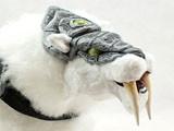国外魔兽女玩家手工打造的超萌毛绒霜刃豹玩偶